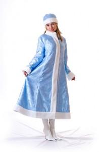 Как сделать костюм снегурочки?