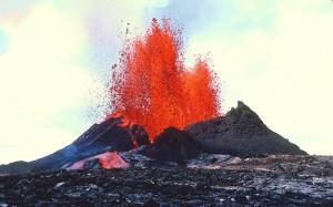 Мощнейшее извержение вулкана
