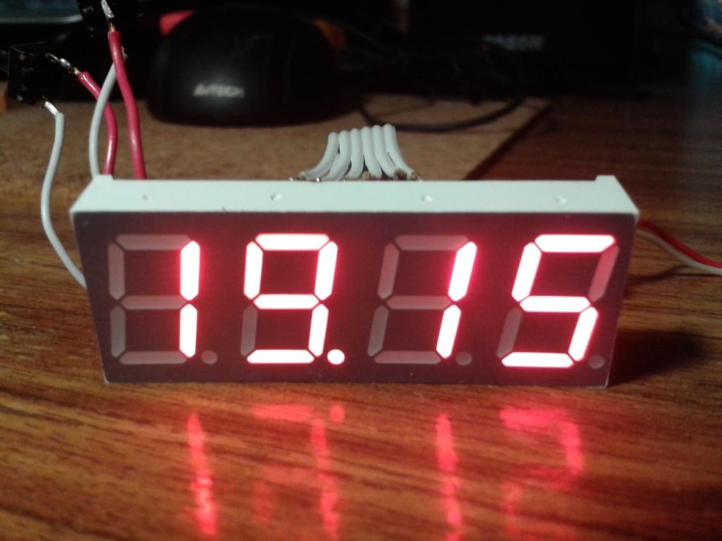 Вот как выгледят самодельные часы